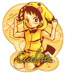 Ceceliita sign - Monkey D. Luffy