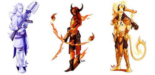 Elemental Rangers by VenaMalfoy