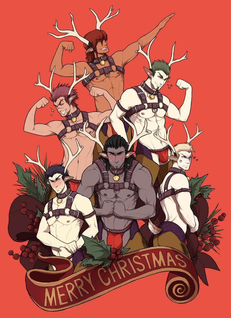 Merry Christmas from PURPUREA NOXA! by VenaMalfoy