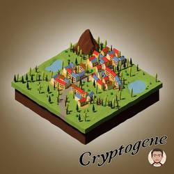 Village Isometric Autumn by Cryptogene