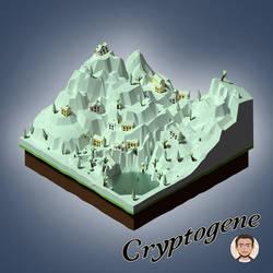 Village Isometric Ice age by Cryptogene