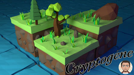 Low Poly Scene - Isometric island by Cryptogene