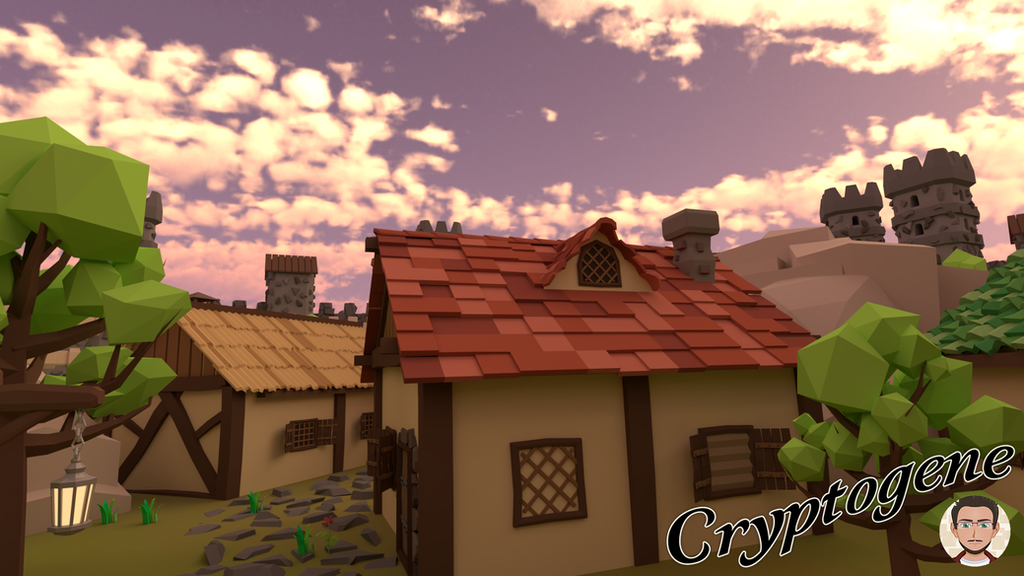 Low Poly - Game Asset Pack - 200+ Medieval Objects by Cryptogene