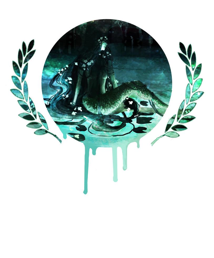 Mermaid by ravenmilo