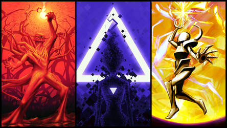 The Astral Triptych by Nexumorphic