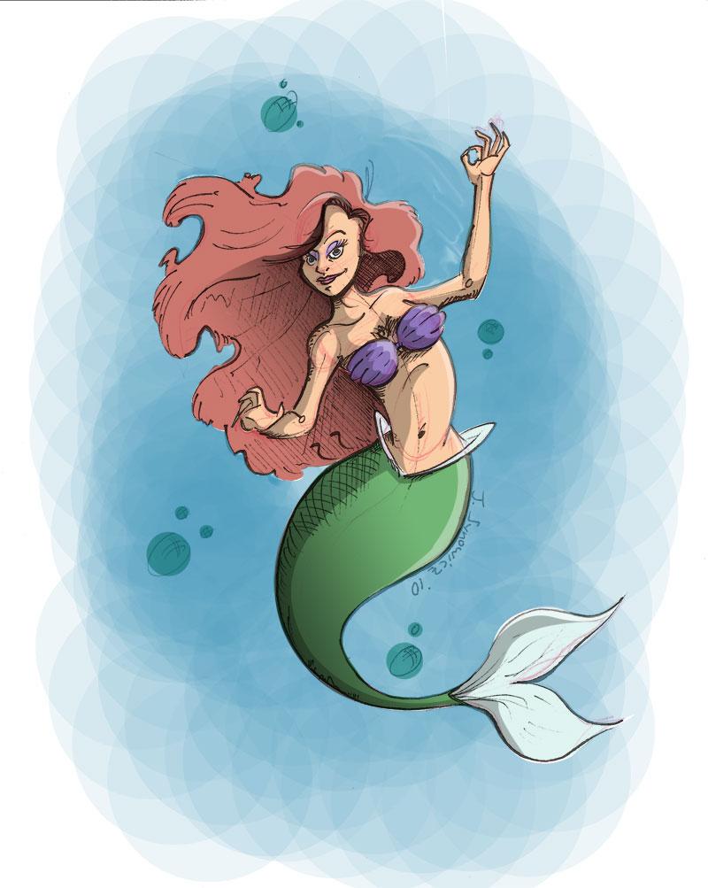 25 min little mermaid by chip14