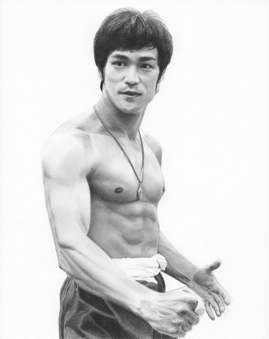 Bruce Lee by BloodyVoodoo