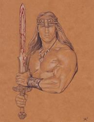 Conan the Barbarian by BloodyVoodoo