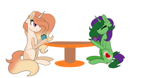 [Collab] ~ Coffee Break by couchpotato77