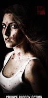 Grunge Bloody Photoshop Action by hemalaya