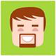 Minimalistic Flat Persons Icons Set by hemalaya