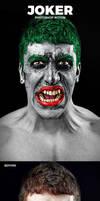 The Joker Photoshop Action