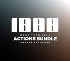 1000+ PS Actions Bundle by hemalaya