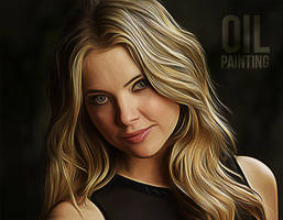 Oil Painting Photoshop Action by hemalaya