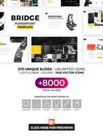 Bridge Powerpoint Template by hemalaya