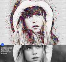 Impression Painting Photoshop Action by hemalaya