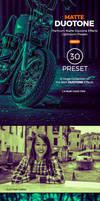 30 Matte Duotone Premium Lightroom Presets