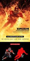 Explosive Photoshop Action