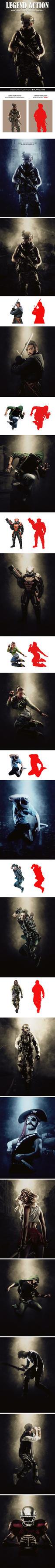 Legend Photoshop Action by hemalaya
