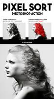 Pixel Sort Photoshop Action by hemalaya