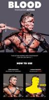 Blood Effect Photoshop Action by hemalaya