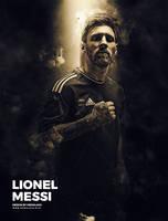 Lionel Messi Barcelona by hemalaya