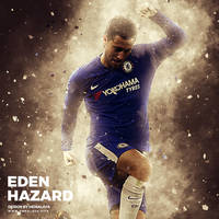 Eden Hazard Real Madrid by hemalaya