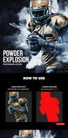 Powder Explosion Photoshop Action