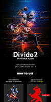Divide 2 Photoshop Action by hemalaya