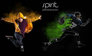 Spirit Photoshop Action by hemalaya