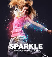 Sparkle Photoshop Action by hemalaya