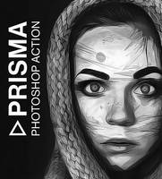 Prisma Photoshop Action by hemalaya