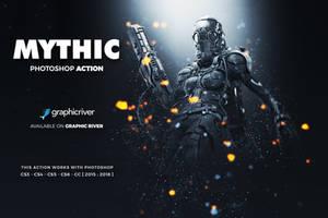 Mythic Photoshop Action by hemalaya