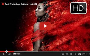 Top Photoshop Actions [ Youtube] List #22 by hemalaya