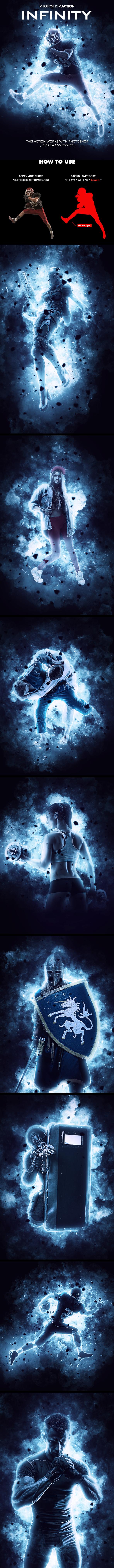 Infinity Photoshop Action by hemalaya