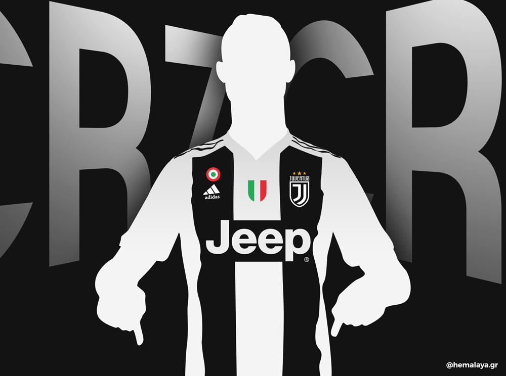 Cristiano Ronaldo To Juventus CR7JUVE by hemalaya