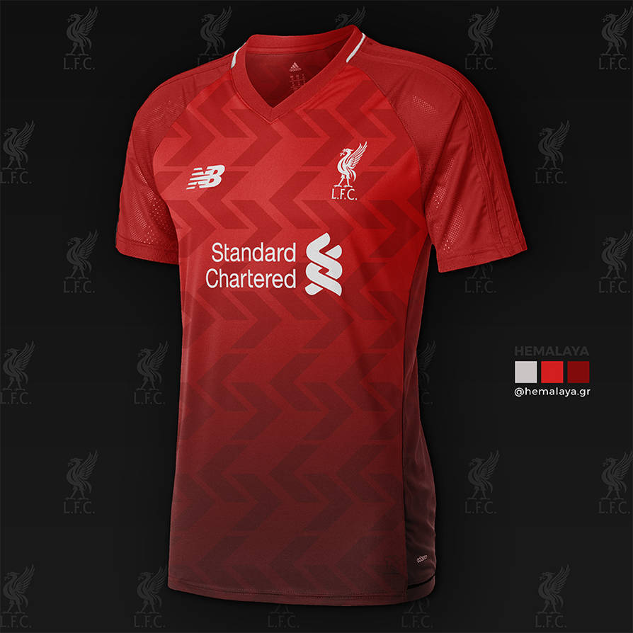 separation shoes 2335a f5b8d Concept For Liverpool FC First Kit by hemalaya on DeviantArt