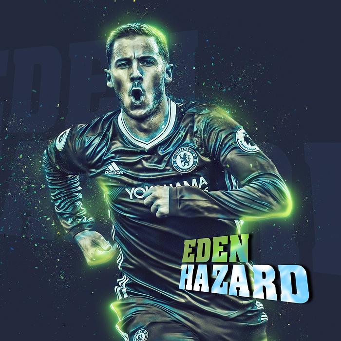 Eden Hazard by hemalaya