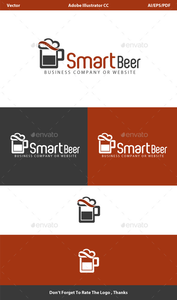 Smart Beer Cloud Logo by hemalaya