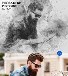 Pro Sketch Photoshop Action by hemalaya