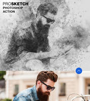 Pro Sketch Photoshop Brushes and Action by hemalaya