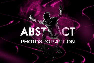 Abstract Photoshop Action by hemalaya