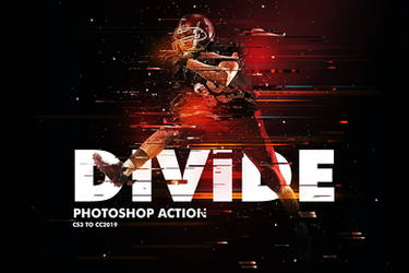 Divide 2 Photoshop Action