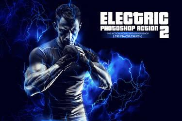 Electric 2 Photoshop Action