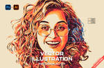 Vector Illustration Photoshop Action