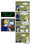 [Commission] Aigis' new upgrades - Page 1