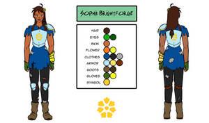 Character Design - Sophia Brightforge