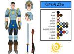 Character Design - Captain Zeig
