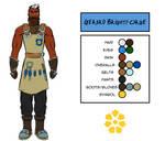 Character Design - Gerard Brightforge