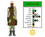 Character Design - Iris Brightforge